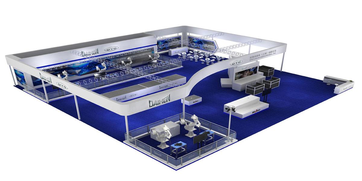 欧地希——北京埃森焊接展展台设计搭建方案