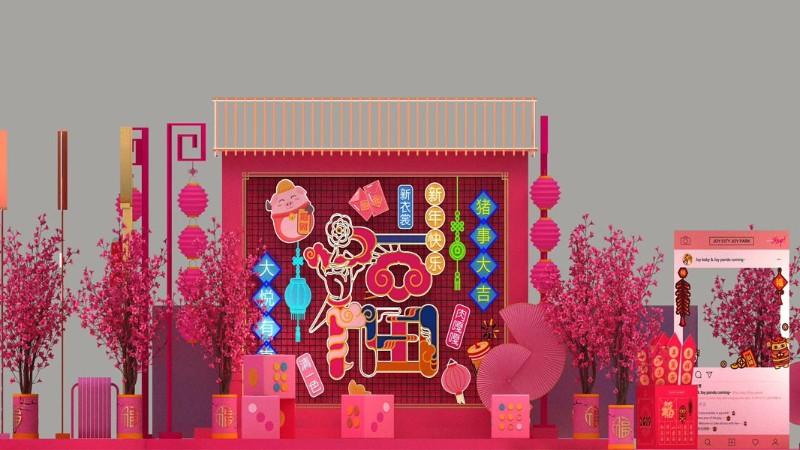 春节美陈-励之闻展览全程陪伴!