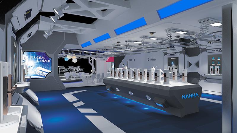 展台设计与搭建内部结构