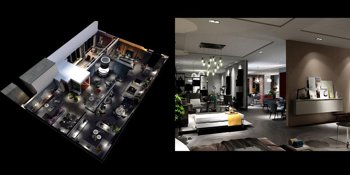 希诺——广州家具展展台设计搭建方案