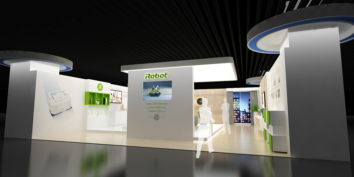 iRobot 体验馆展厅装修案例