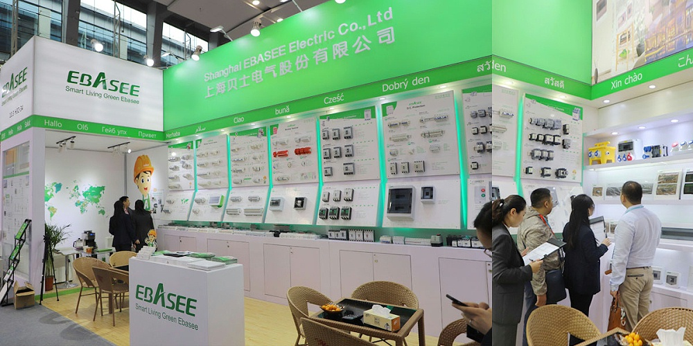 贝士电气——广州广交会展台设计与搭建方案