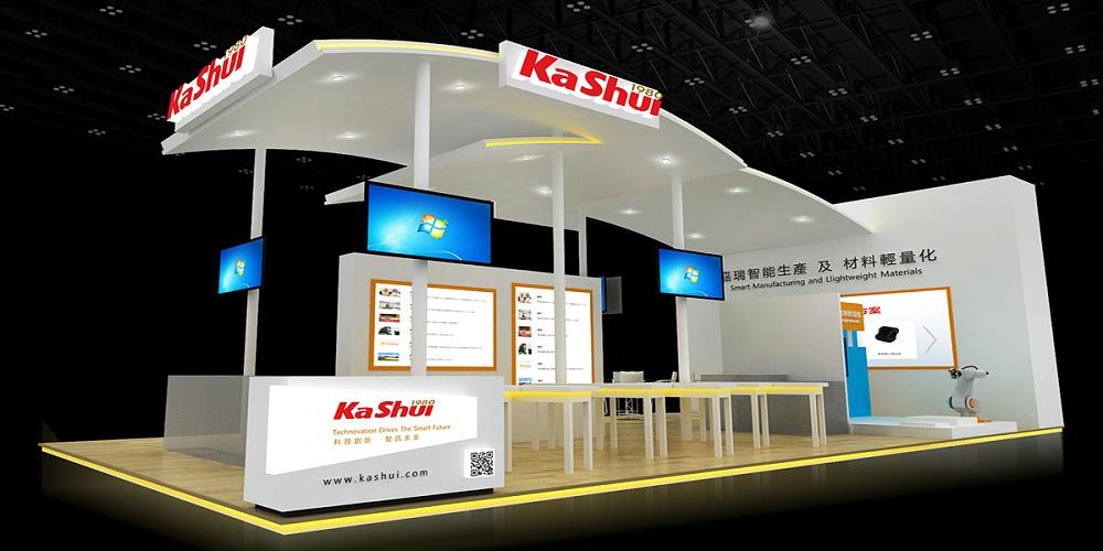 嘉瑞——深圳工业展展台设计与搭建方案